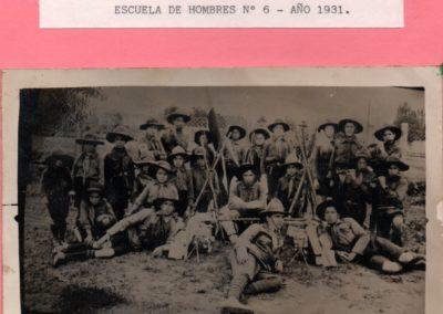 Brigada caupolican escuela de hombres