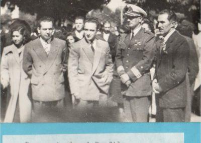 Comandante aviación en desfile Gorbea