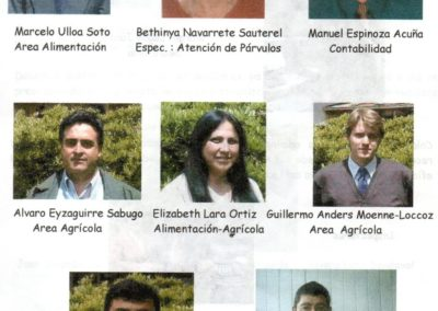 Docentes liceo gorbea 2003