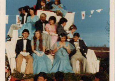 corte desfilando 1975