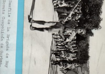 desfile brigada caupolican