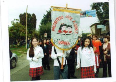 desfile escuela presbitero