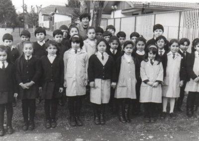 escuela presbitero blanco y negro