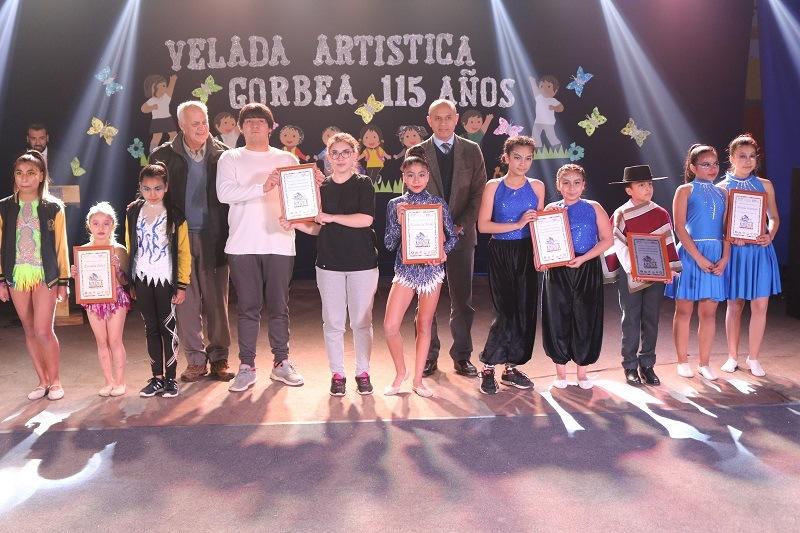 Gorbea realiza Velada Artística para celebrar sus 115 años