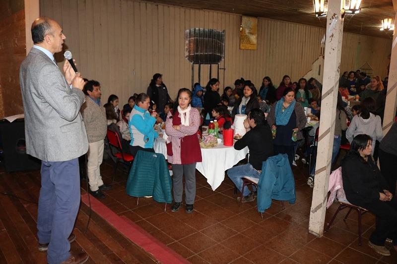 Escuela Licarayén celebra Día de la Familia