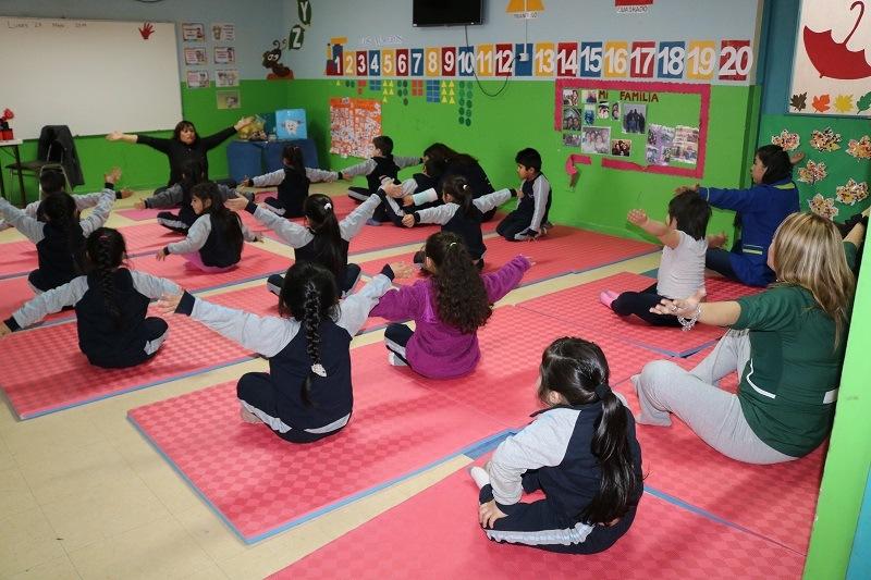 Escuela Los Perales entrega clases de Mindfulness a sus estudiantes