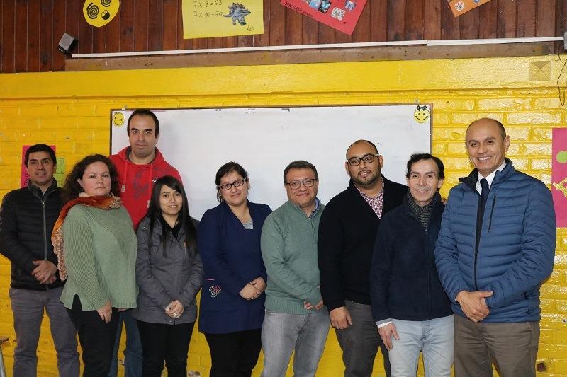 Alcalde y Daem entregan capacitación a Profesores de matemática