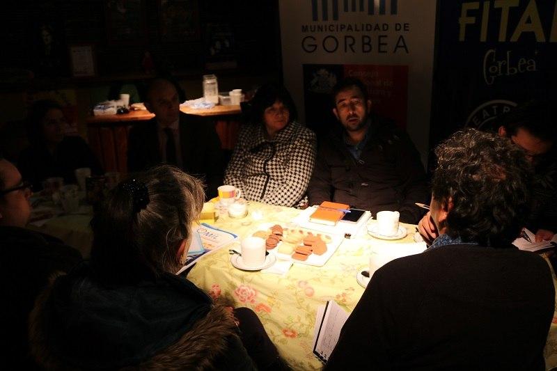 Daem se reúne con Seremi de Cultura y agrupación Cultural TeatroMia