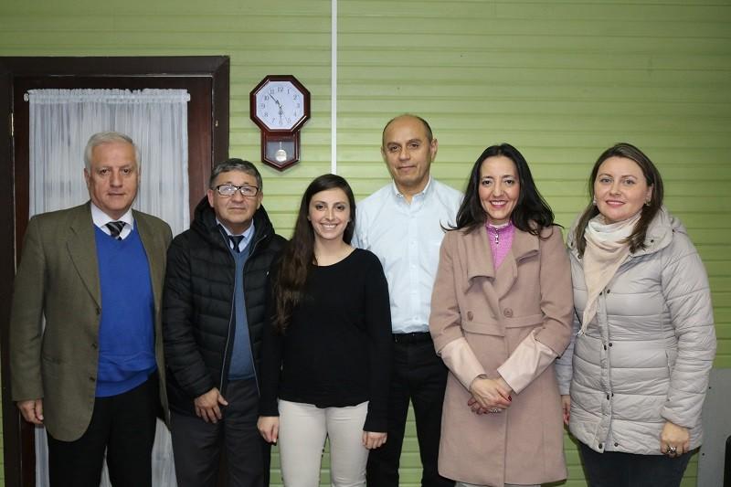 DAEM se reúne con Pre Universitario Pedro de Valdivia