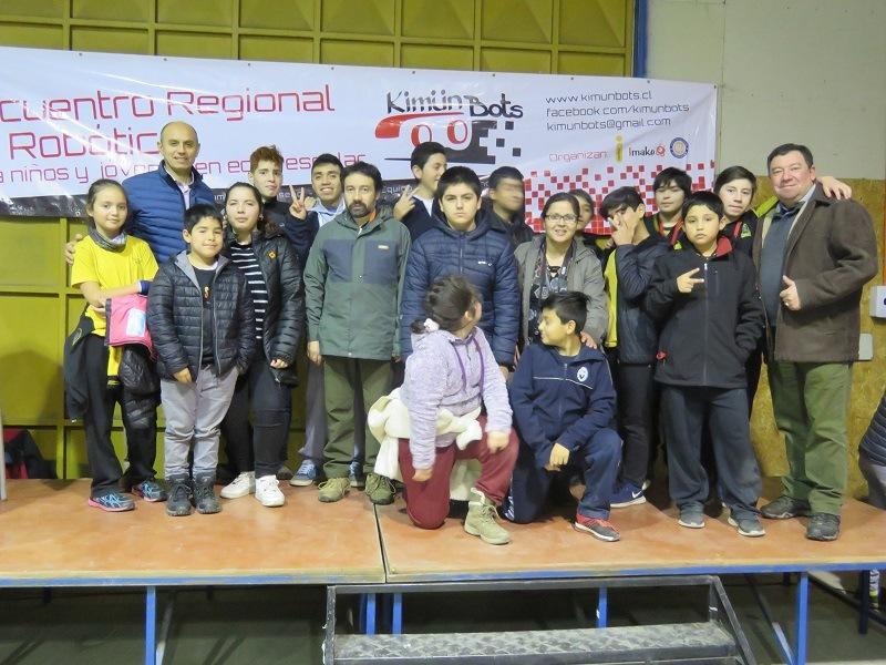 Estudiantes de la comuna participan en Encuentro Regional de Robótica