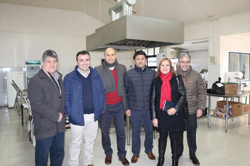 Encargado Nacional de Establecimientos Bicentenarios visita Liceo de Lastarria