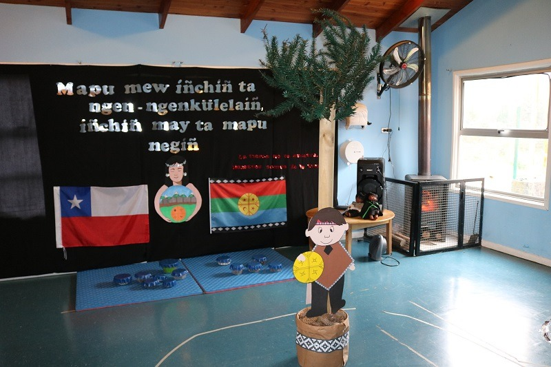 Sala Cuna y Jardín Infantil Arcoíris celebra We Tripantu