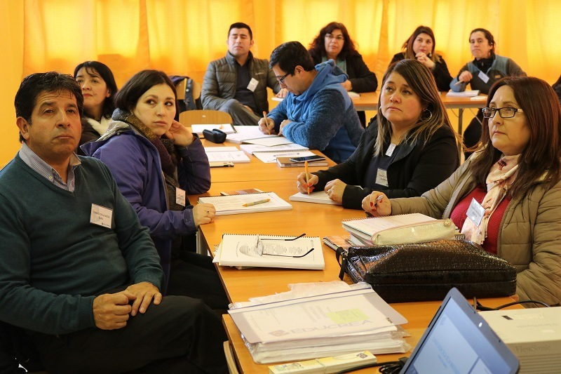 Profesores de Primer Ciclo de la asignatura matemática se capacitan en su área
