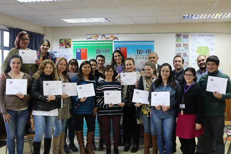 Escuela Los Perales se capacitan en Habilidades Blandas para trabajar en equipo