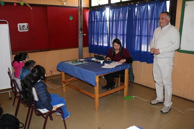 Se realiza Operativo de Salud Escolar JUNAEB