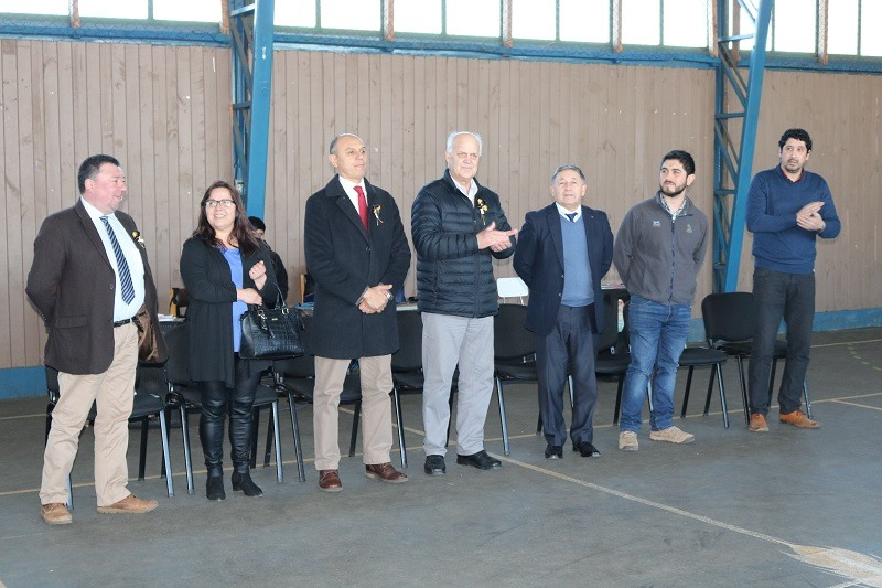 Alcalde informa a C.E. Andrés Antonio Gorbea aprobación proyecto por más de 240 millones