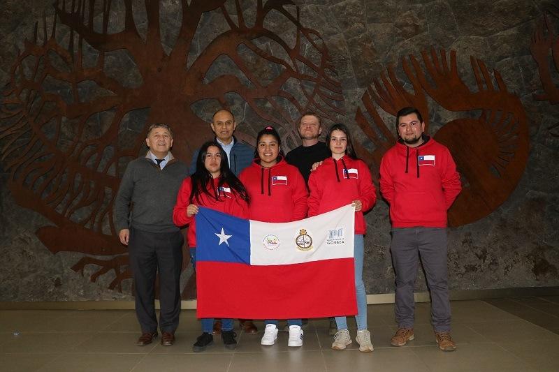 Estudiantes del C.E. Andrés Antonio Gorbea viajan a Brasil por estudios