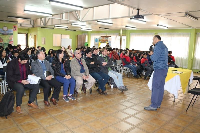 DAEM realiza jornada de orientación a octavos básicos de nuestras escuelas municipales