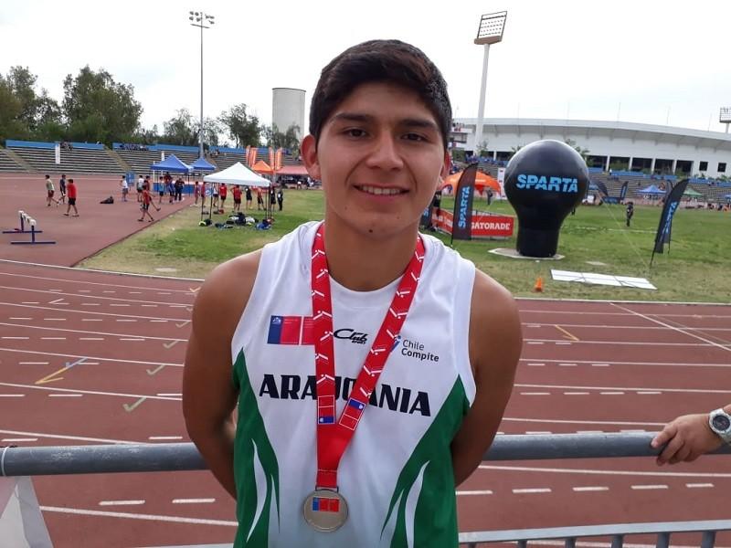 Darío Curiqueo Vilquiman subcampeón nacional en 5000 metros marcha