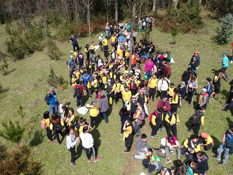 Escuela Cinco organiza Trekking Ecológico en Cerro Maulen