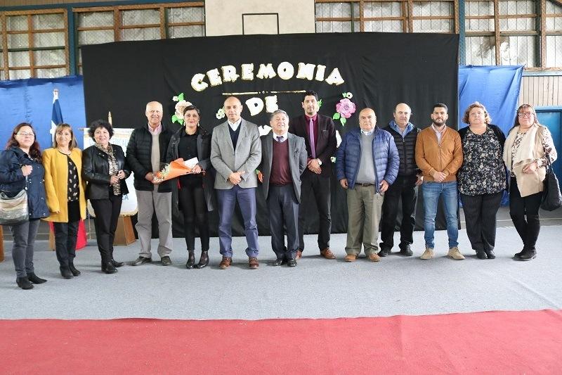 Ceremonia de Bienvenida a nueva Directora del Complejo Educacional Andrés Antonio Gorbea