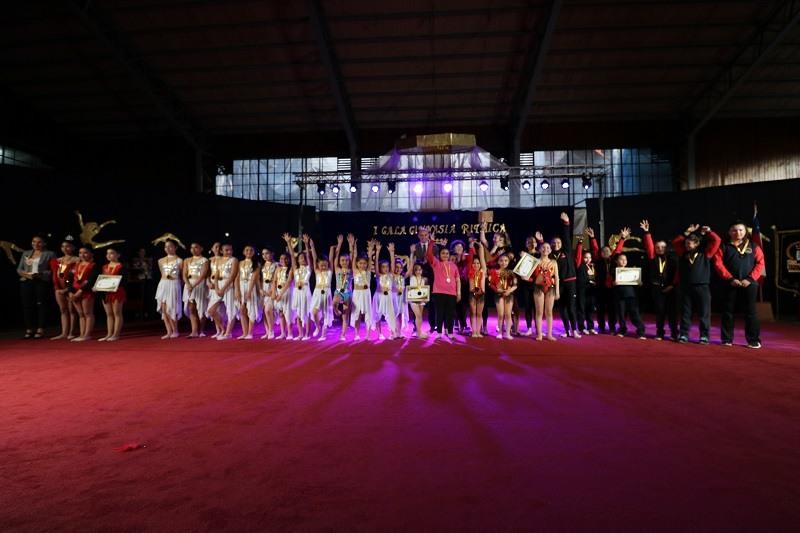 Escuela Cinco organiza Primera Gala de Gimnasia Rítmica 2019