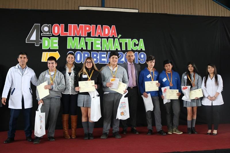 C.E. Andrés Antonio Gorbea realiza 4ta versión de las olimpiadas de matemática