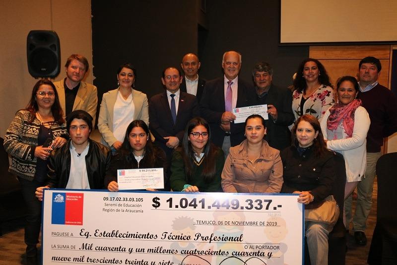 Liceo de Gorbea y Lastarria reciben más de 99 millones de pesos cada uno por fondos TP 5.0