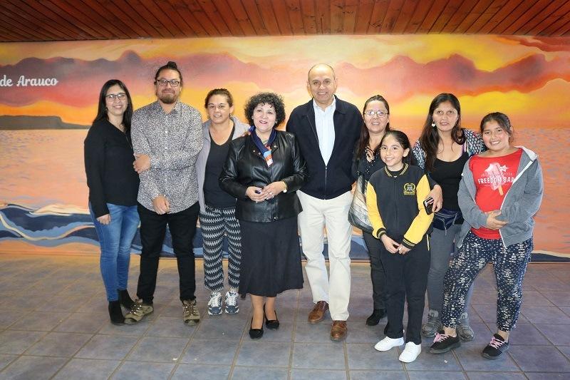 Escuela Cinco realiza Cuenta Pública e inauguración de Murales Educativos y Sala de Estimulación Sensorial