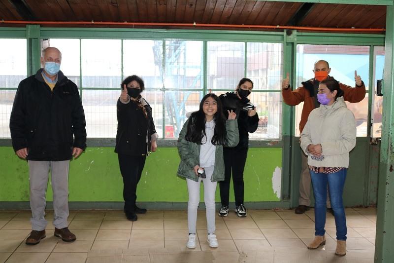 Estudiante Martina Muñoz Duran de Escuela Cinco gana Campamento Virtual Latinoamericano
